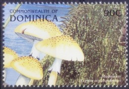 Freckled Dapperling, Mushrooms, Dominica 1999 MNH - Pilze