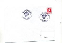 Lettre Cachet Strasbourg Ouverture Du Vaisseau - Storia Postale