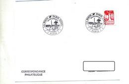 Lettre Cachet Paris Poste Anjou - Storia Postale