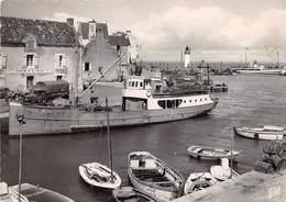 56 .n° 21258 . Quiberon .port Haliguen . Cafe Du Midi .bateaux .vue Generale . Cpsm .10.5 X 15cm . - Quiberon