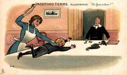 MILITAR. MARINA // MARINE. YACHTINGTERMS ILLUSTRATED. A SPANKER! - P.V.B. - Otros Ilustradores