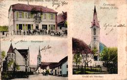 Carte 1910 WIRTSCHAFT / REBSTOCK /HAUPTSTRASSE / RODERN - Otros Municipios
