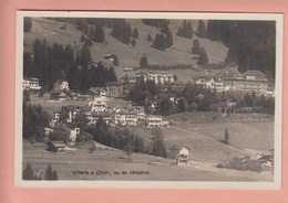 OLD POSTCARD - SWITZERLAND -  SUISSE -     VILLARS SUR OLLON - VUE AU TELEPHOT - VD Vaud
