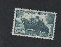 N°502b Faux Pasteur Luxe Gomme Sans Charniére - France