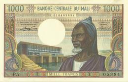 Mali  1000 Francs  Undated (1970-1984)  KM P 13 A   NEUF - Malí