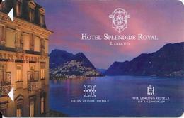 Switzerland: Hotel Splendide Royal Lugano - Hotelkarten