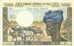 Mali  5000 Francs  Undated (1973-1984)  KM 14 B   Sup ++ - Malí