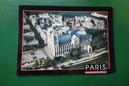 C 6 ) NOTRE DAME DE PARIS VUE DU CIEL PHOTO YA BERTRAND ESPLORER REF CS0174  NON ECRITE - Notre Dame De Paris