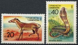 Turkmenistan 1992 Animal And Snake - Kobra MNH - Turkmenistan