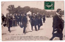6714 -  Voyage Des Souverains Belges à Paris ( Juillet 1910 ) - N.D. N°16 - - Recepciones