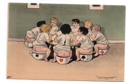 ENFANTS LA MANILLE SUR LE POT ANIMEE - Cartes Humoristiques