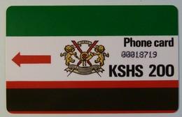 KENYA - D1 - 2nd Print - 1988 - VF Used - R - Kenya