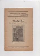 TURNHOUT-TAXANDRIA-EEN KEMPISCH MUSEUM-BOEKJE-1931-DOOR KANUNNIK J.E.JANSEN-24 BLZ-AFMETINGEN+-15,5-22,5CM-ZIE 5 SCANS - Livres, BD, Revues