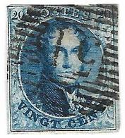 0M-995: N° 11: 51: GRAMMONT - 1858-1862 Medaillen (9/12)
