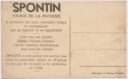 Spontin - Etablissement Des Sources (carte Publicitaire) - Yvoir