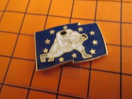 320 Pin's Pins / Belle Qualité Et Rare / THEME SPORTS : BAGARRE EN PYJAMA JUDO DRAPEAU EUROPEEN - Judo