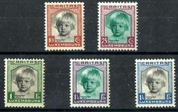 Luxemburgo Nº 234/38 Nuevos. Cat.120€ - Unused Stamps