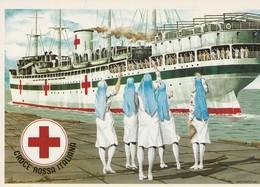 Italie - Africa Settentrionale Italiana - Navire Hospitalier Quittant Port Libien - 1941 - War 1939-45