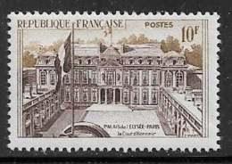 Maury 1126 - 10 F Palais De L'Elysée - * - Francia