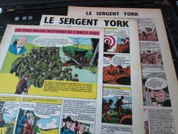 SPI2020 3 Feuilles 4 Ou 5 Pages / Les Plus Belles Histoires De L'Oncle Paul : LE SERGENT YORK Fait Partie Des Gens Bons - Otros Objetos De Cómics