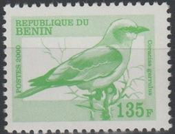 Bénin 2000 Mi. H1232 135 F Fauna Faune Bird Oiseau Vogel Coracias Garrulus MNH** Rare - Bénin – Dahomey (1960-...)