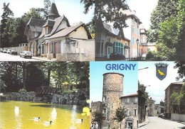 69 - Grigny - Multivues - Grigny