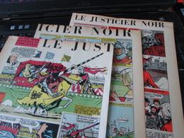 SPI2020 3 Feuilles 4 Ou 5 Pages / Les Plus Belles Histoires De L'Oncle Paul : LE JUSTICIER NOIR Mais Pas Malcolm X - Otros Objetos De Cómics