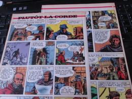 SPI2020 3 Feuilles 4 Ou 5 Pages / Les Plus Belles Histoires De L'Oncle Paul : PLUTOT LA CORDE - Otros Objetos De Cómics