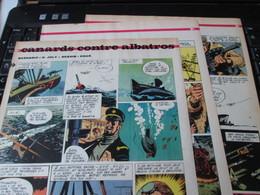 SPI2020 3 Feuilles 4 Ou 5 Pages / Les Plus Belles Histoires De L'Oncle Paul : CANARDS CONTRE ALBATROS Sous-marin - Livres, BD, Revues