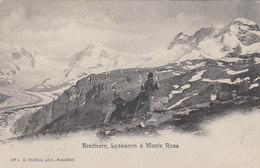 Bergsteigergruppe Bei Der Rast - 1904     (00210) - VS Valais