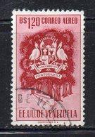 XP398 - VENEZUELA 1953 , Posta Aerea Yvert N. 488 Usati  (2380A)  PORTUGUESA - Venezuela
