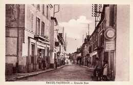 SAUZE-VAUSSAIS  Grande Rue . Très Bon état - Sauze Vaussais