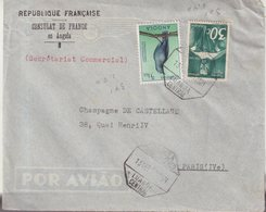"ANGOLA : PA . DE "" LUANDA "" . POUR PARIS . 1951 . - Angola"