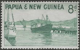 Papua New Guinea. 1963 Definitives. 8d MH. SG 47 - Papua New Guinea