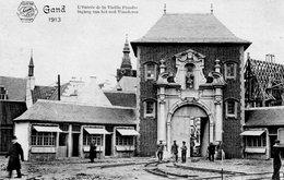 Gand / Gent - Exposition Universelle Et Universelle De Gand 1913 / Ingang Van Het Oud Vlanderen - Gent