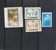 Iran - Petit Lot De 4 Timbres (3 Neufs , 1 Oblitéré) - Iran