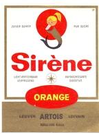 Etiket Etiquette - Sirène - Brouwerij Stella Artois - Leuven - Etiquettes