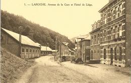LAROCHE  AVENUE DE LA GARE HOTEL DE LIEGE   Réf 277 - Belgique