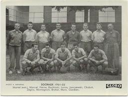 EQUIPE De SOCHAUX  1951/52  Et  IRLANDE  FRANCE      2 PHOTOS    Format  12/9  Globo - Voetbal