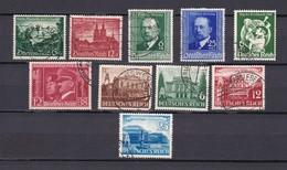 Deutsches Reich - 1940/41 - Michel Nr. 748/49+760/67 - Gest.- 29 Euro - Germany