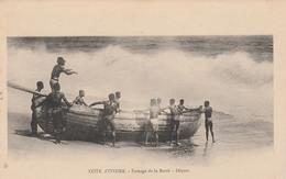 CÔTE D'IVOIRE             Passage De La Barre -Départ    TB PLAN - Côte-d'Ivoire