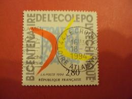 """1990-1999    - Timbre Oblitéré N°2862    """" 200 Ans école Polytechnique       """"     Net  0.60  Photo  2 - France"""