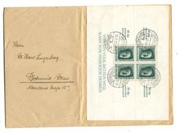 Block 11 Auf Brief Leverkusen Küppersteg !! ( Del-1011) - Covers & Documents