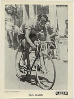 PHOTO   Nello LAUREDI   Miroir Sprint   Format  12/9   Globo  1951 - Cyclisme