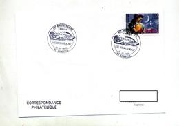 Lettre Cachet Sannois Cyrano De Bergerac - Storia Postale