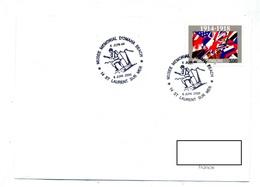 Lettre Cachet Laurent Sur Mer Memorial Omaha - Storia Postale