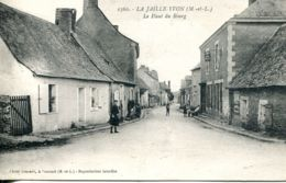 N°3492 T -cpa La Jaille Yvon -le Haut Du Bourg- - France