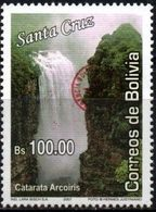 Bolivia 2018 ** CEFIBOL 2336 Catarata Arco Iris  Emision ECOBOL 2007 Habilitadas Para Uso En Potosi. - Bolivia