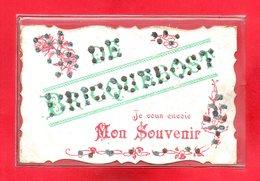 50-CPA VESLY - DE BRICQUEBOST JE VOUS ENVOIE MON SOUVENIR - France