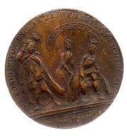 Médaille 40,5 Mm.1747. Haus Habsburg Maria Thérésia. - France
